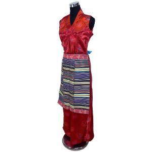 チベットの民族衣装2点セット 女性用|mahanadi