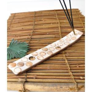 石と木の合板線香立て ICSTD10|mahanadi