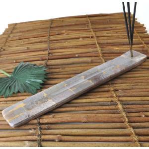 石と木の合板線香立て ICSTD12|mahanadi
