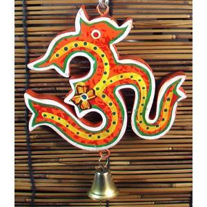 インドのオームのオブジェ KO-BLL23|mahanadi