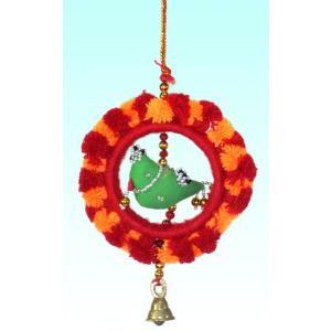 インドの小鳥の天井・壁飾り KO-BLL9|mahanadi