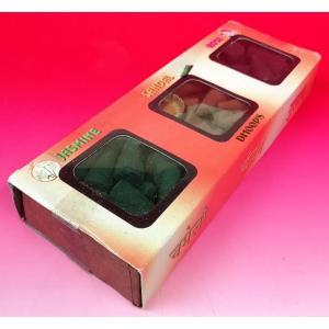 インドのコーン型お香 Dhoopドゥープ3種1セット ローズ サンダル ジャスミン 60本以上入り|mahanadi
