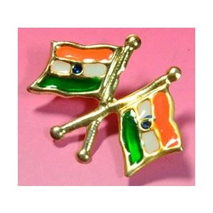 インドの国旗バッジ KO-FLAG7|mahanadi