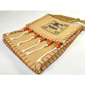 タイ製象さんポシェット 大判 ゴーズ 2色有 バックパッカー アジアン エスニック NU-BAG200220|mahanadi|04