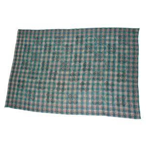 インドのマルチカバー ゴーズ(ガーゼ状) シングルサイズ・ベッドシーツ テーブルクロス等に エスニック アジアン|mahanadi