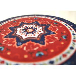 ペルシャ絨毯風のマウスパッド アジアン エスニック アラブ イスラム 中東 アラベスク NU-MP191201|mahanadi