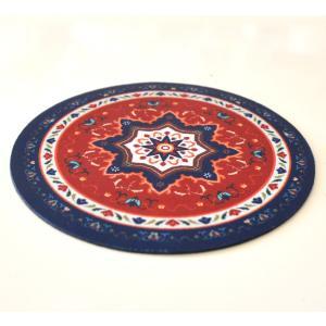 ペルシャ絨毯風のマウスパッド アジアン エスニック アラブ イスラム 中東 アラベスク NU-MP191201|mahanadi|02
