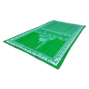 ムスリム礼拝用マット イスラム教 お祈り シート インドネシア製 アジアン雑貨 エスニック 中東 モスク アラブ NU-MPRY3 mahanadi 02