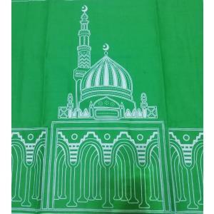 ムスリム礼拝用マット イスラム教 お祈り シート インドネシア製 アジアン雑貨 エスニック 中東 モスク アラブ NU-MPRY3 mahanadi 03