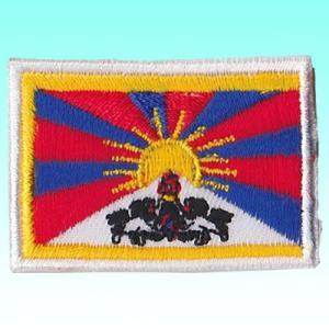 チベットの国旗ワッペン NU-WAP11|mahanadi