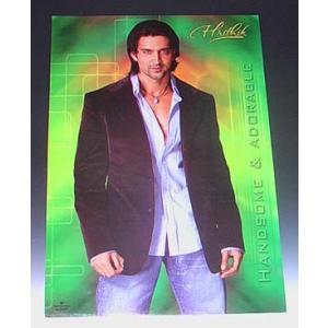 インド映画俳優リティック・ローシャンのポスター Hrithik Roshan ボリウッド インド雑貨 アジアン雑貨|mahanadi