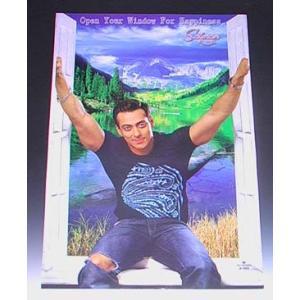 インド映画俳優サルマン・カーンのポスター Salman Khan ボリウッド インド雑貨 アジアン雑貨|mahanadi