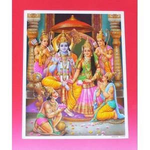 インドの神様ミニポスター / ラーマ|mahanadi