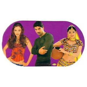 インド映画俳優ステッカー 3in1|mahanadi
