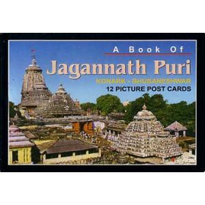 インドの観光地ポストカード・ブック プリーのジャガンナータ寺院 12枚綴り|mahanadi