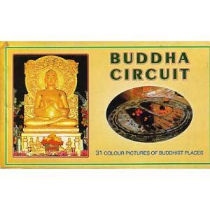 インドの仏跡のポストカード・ブック Buddha Circuit 18枚綴り|mahanadi