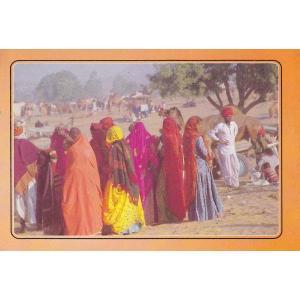 インドの生活スタイルと文化のポストカード・ブック Indian Life & Culture 12枚綴り|mahanadi|02