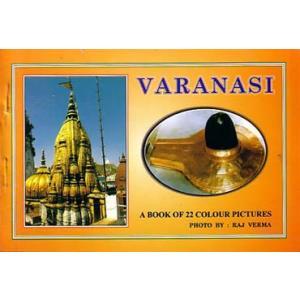 インドの聖地のポストカード・ブック Varanasi(バラナシ) 10枚綴り|mahanadi