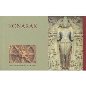 インドの観光地のポストカード・ブック コナーラク 8枚綴り|mahanadi