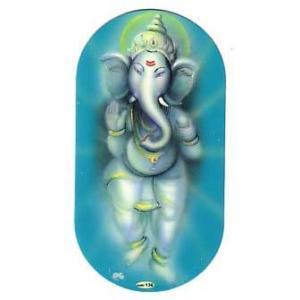 インドの両面プリント神様ステッカー ガネーシャ WST-GNS6|mahanadi