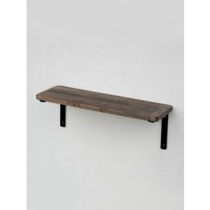 鉄+木:シェルフセット S:壁付け飾り棚 ウォールシェルフ|mahatagiya
