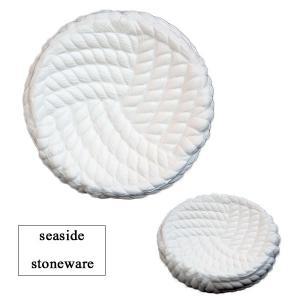 [DULTON]Seaside stoneware ソープディッシュ A555-345 White|mahatagiya