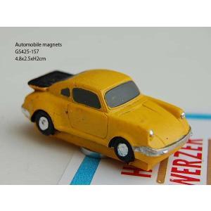 AUTOMOBILE MAGNET TYPE-A YELLOW::オートモービル マグネット GS425-157::|mahatagiya