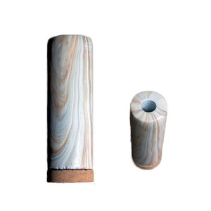 [ダルトン]Tube vase CHIMNEY GS565-279 Lサイズ Marble|mahatagiya