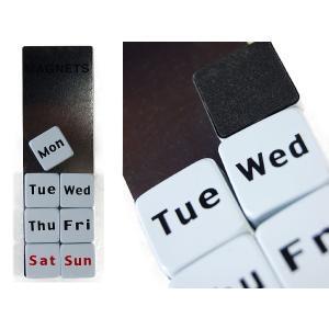 MAGNETS OF THE WEEK::曜日マグネット S126-07::|mahatagiya