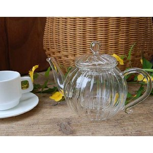 ::Glass tea pot