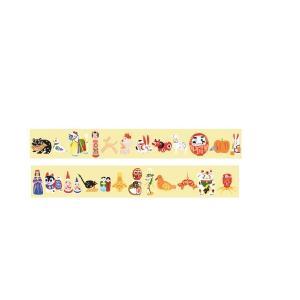 [中川政七商店][日本市] 日本全国郷土玩具マスキングテープ 東日本