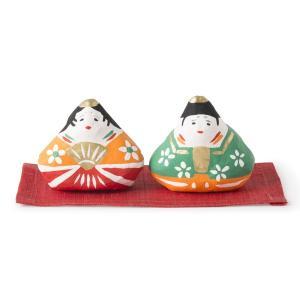 [中川政七商店][日本市] 張子飾り 雛|mahatagiya