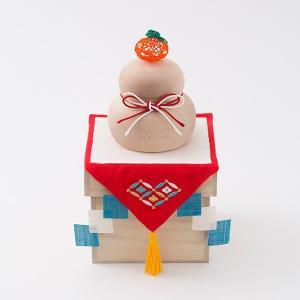 [中川政七商店][日本市] 水引橙の鏡餅飾り|mahatagiya