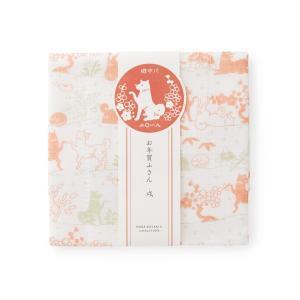[中川政七商店][日本市] お年賀ふきん 戌 赤緑 お正月 縁起物|mahatagiya
