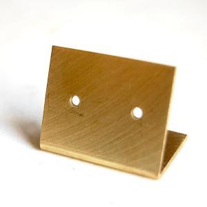[志成販売] Brass プレート ピアスホルダー M 303088|mahatagiya
