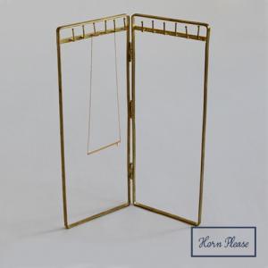 [志成販売] Brass ネックレス スタンド 307842|mahatagiya