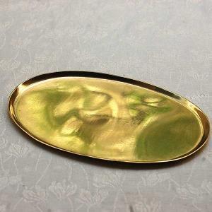 [志成販売] Brass ソートトレー オーバル S308934|mahatagiya