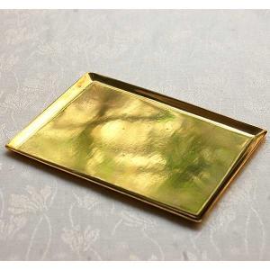 [志成販売] Brass ソートトレー レクタングル L 308935|mahatagiya