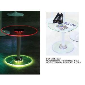JEWEL LED LIGHT BOTH GLASS TABLE|mahatagiya