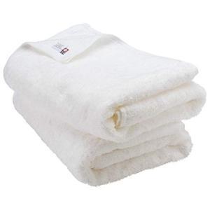 ブルーム 今治タオル 認定 レオン バスタオル 2枚セット ホテル仕様 サンホーキン綿 日本製 (ホワイト)|mahimohiya