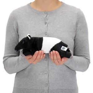 カロラータ マレーバク ぬいぐるみ 動物 (ねそべりシリーズ) 10cm×8.5cm×28cm|mahimohiya