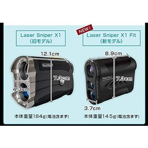 ショットナビ Laser Sniper X1 Fit(レーザー スナイパー) レーザー距離計測器/s...
