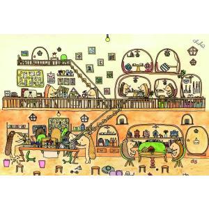 ポストカード ギフトカード カード おしゃれ 猫 犬 うさぎ くま ハリネズミ 動物 かわいい 誕生日 記念日 絵葉書 人気|mahounokoukou|03