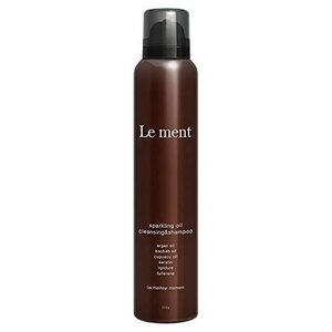 Le ment -sparkling oil cleansing & shampoo -