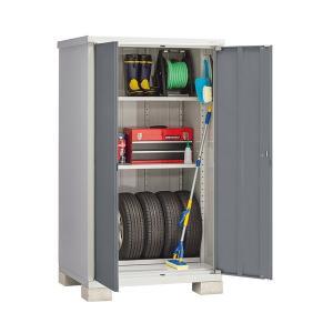 内祝い イナバ物置 アイビーストッカー 安心の定価販売 BJX-119E ドア型収納庫 全面棚タイプ