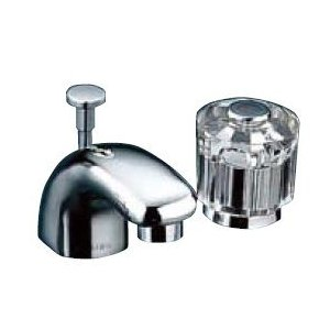 <title>人気の製品 水栓金具 INAX LF-131B-GL 洗面器 手洗器用 セパレート単水栓 CR コンビネーション 一般水栓 一般地 寒冷地共用 ポップアップ式</title>