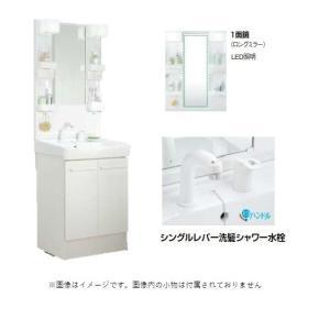 LIXIL INAX 洗面化粧台 25%OFF 日本正規代理店品 オフト MFTX1-601XPJU+FTV1N-605SY-W ロングミラー+洗髪シャワー水栓 高さ1850mm プッシュワンウェイ 間口600mm