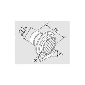 給湯器 通常便なら送料無料 部材 ノーリツ ベンドトップφ100 排気トップ 新品未使用 防滴仕様 0702936