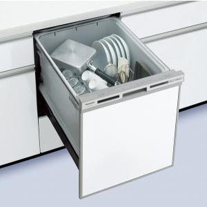 食器洗い乾燥機 パナソニック NP-45VS7S 幅45cm ミドルタイプ (パネル別売) [■]