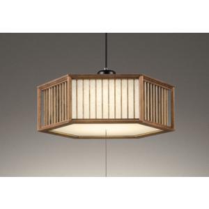 オーデリック OP252688L 和風ペンダントライト 売り込み LED一体型 〜8畳 マート 電球色 段調光